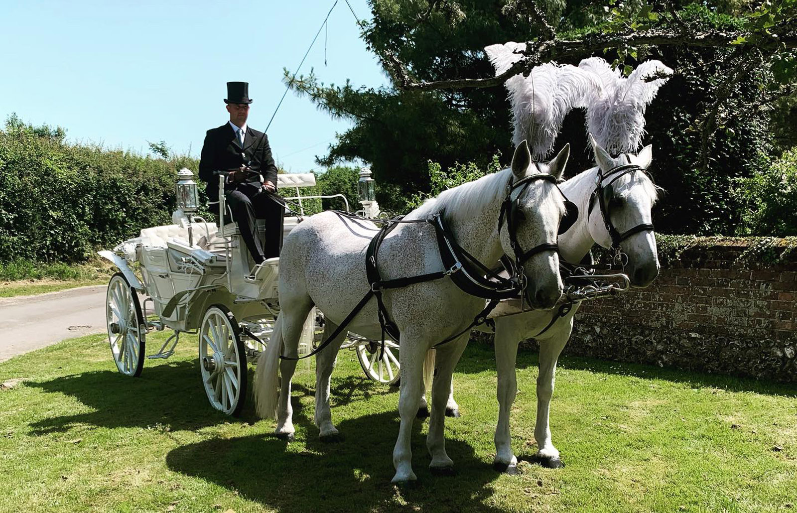 Horse and Carriage Wedding Kent